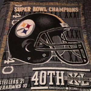 Pittsburgh Steelers 5FTX4FT Super Bowl XL Blanket
